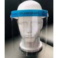 Arcvédő plexi szivacsos homlokvédővel 1db