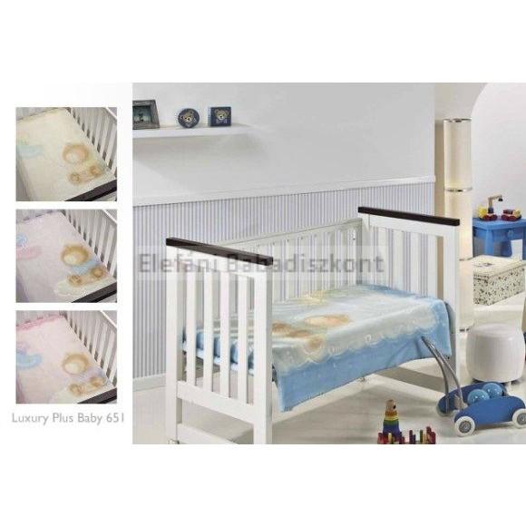 Mora Luxuri baby babapléd 80x110cm  651 beige 527cefd80a