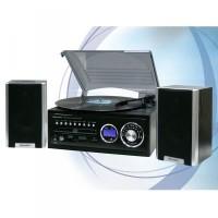 Roadstar HIF-8888TUMPN fadobozos mikro HiFi rendszer lemezjátszóval