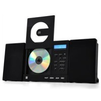 Stereoanlage Dual Vertical 150 MP3-CD USB SD AUX Uhr