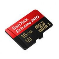 Sandisk microSDHC Extreme Pro 16GB UHS-I U3 95MB/s memóriakártya