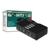 Digitus 7.1 USB Sound Box hangkártya (DA-70800)