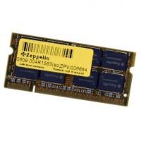 Zeppelin 1GB 800Mhz DDR2 notebook memória