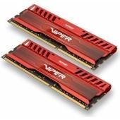 Patriot Viper 3 Venom Red 16GB (2x8GB) 1866MHz DDR3 CL10 memória (PV316G186C0KRD)
