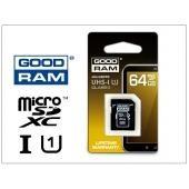 Goodram microSDXC 64GB (class 10) UHS-I memóriakártya