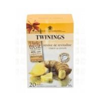 Twinings citrom-gyömbér tea 20 db