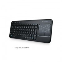 Logitech Wireless Touch K400 német billentyűzet