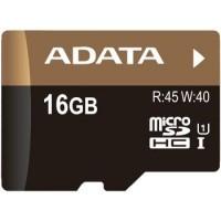 A-Data microSDHC 16GB (class 10) UHS-I Video Full-HD memóriakártya+SD adapter