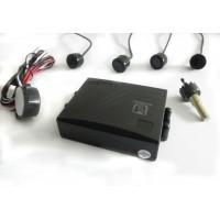 Tolatóradar hangjelzéssel 4 fekete szenzor (CA-P686A4)