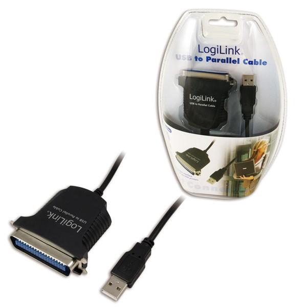 LogiLink USB - Párhuzamos kábel (AU0003C) kábel · » 8853fc1160