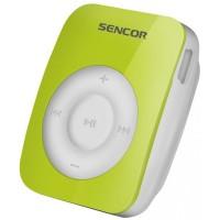 Sencor SFP 1360 GN zöld csíptethető MP3 lejátszó, 4GB
