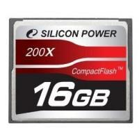 Silicon Power Compact Flash 16GB 200x memóriakártya