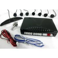 Tolatóradar LED kijelzővel 8 fekete szenzorral (CA-P686D8)