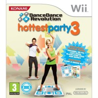 Dance Dance Revolution: Hottest Party 3 + Táncszőnyeg - Wii