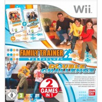 Family Trainer: Double Challenge + táncszőnyeg - Wii
