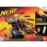 Nerf N-Strike + Nerf Blaster - Wii