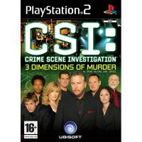 CSI Crime Scene Investigation: 3 Dimensions of Murder - PS2