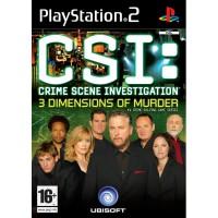 CSI Crime Scene Investigation: 3 Dimensions of Murder - PS2