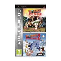 Worms: Open Warfare + Worms: Open Warfare 2 (Double Pack) - PSP