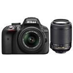 Nikon D3300 fényképezőgép kit (18-55mm+55-200mm objektívvel)
