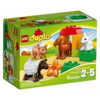 LEGO Duplo - Állatok a farmon (10522)