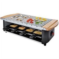 Domoclip DOM255 raclette grill, party grill, gránitkő, 8 fő