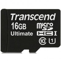 Transcend MicroSDHC 16GB (Class 10) UHS-I MLC 600X memóriakártya