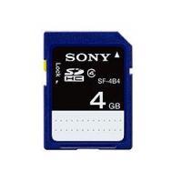 Sony SDHC 4GB (Class 4) memóriakártya (SF4N4)