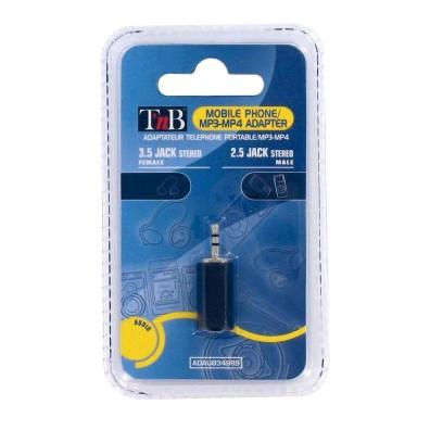 3afd05b0c76c TnB ADAU034989 2,5mm jack-3,5mm jackalj sztereo átalakító (ADAU034989)  átalakító