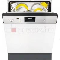 Zanussi beépíthető kezelőpaneles mosogatógép ZDI16010XA