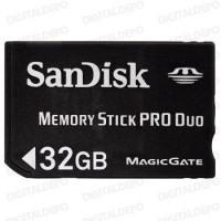 Sandisk Memory Stick Pro Duo 32GB memóriakártya