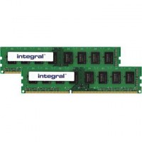 Integral 4GB (2x2GB) 1333MHz CL9 DDR3 memória