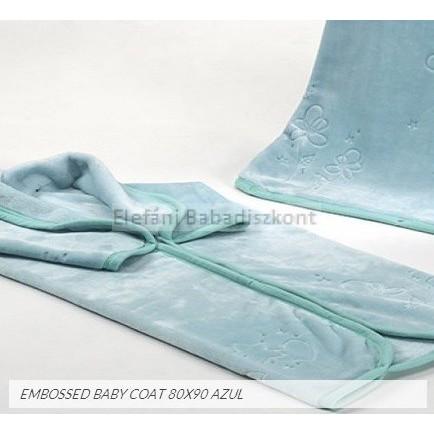 Mora Embossed babapléd 80x90cm  922 azul eff12f6902
