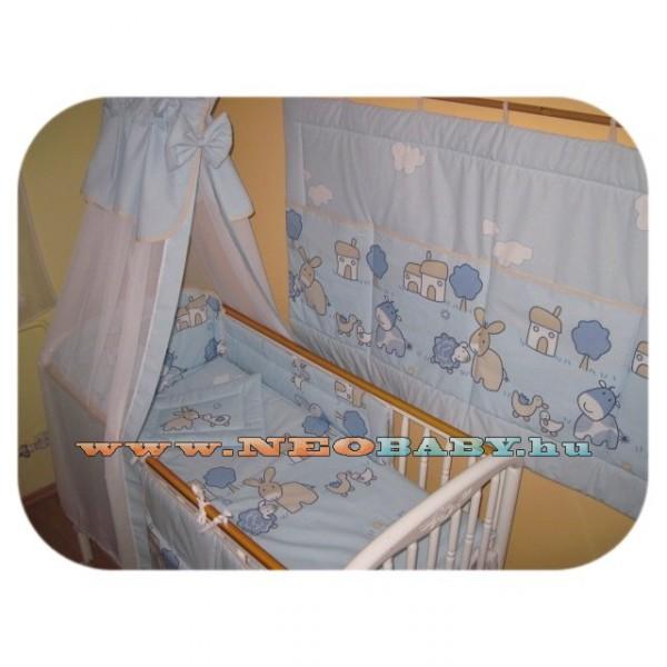 Szeko Studio Tündér 4 részes baba és gyermek ágynemű garnitúra farmos  kék 3678c2fc44