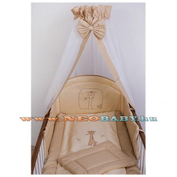 Szeko Studio Tündér 4 részes baba és gyermek ágynemű garnitúra makaó zoé  zsiráf bézs pöttyös da2f5aa02a