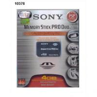 Sony Memory Stick Pro Duo 4GB memóriakártya (MSMT4GN)