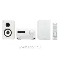 Pioneer X-CM32BT-K mikro hifi iPod/iPhone dokkolóval