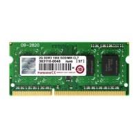 Transcend 2GB 1600MHz DDR3 notebook memória