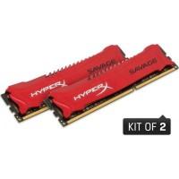 Kingston HyperX Savage 8GB (2x4GB) 2133MHz CL11 DDR3 memória (HX321C11SRK2/8)