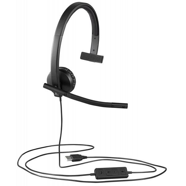 Logitech H570E MONO EMEA (981-000571) Headset b4207cce59
