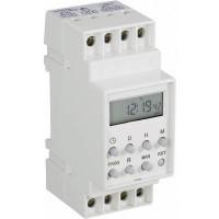 Conrad DIN sínes digitális heti időkapcsoló óra, 1 áramkör, 250V/16A, 8 program
