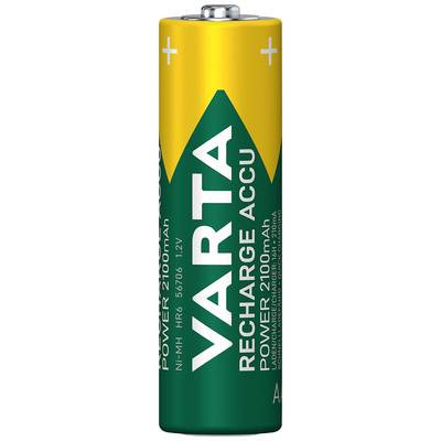 Varta Power Akku Ready2Use 5716 Migon AA 4er Blister 2600mAh 1,2V 2600mAh//3Wh Ni