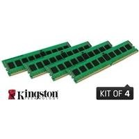 Kingston KVR21R15D4K4/64 64GB (16GB x4) DDR4 2133Mhz ECC Registered Memory RAM DIMM