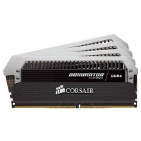 Corsair DOMINATOR® PLATINUM 16GB (4 x 4GB) DDR4 DRAM 2666MHz C16 Memory Kit (CMD16GX4M4A2666C16)