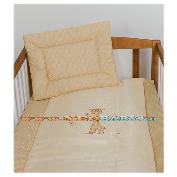 1aea2b84f0 Szeko Studio Tündér 3 részes baba és gyermek ágynemű garnitúra zoé zsiráf  bézs pöttyös