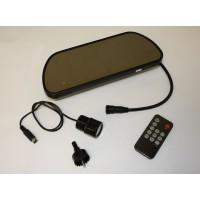 Golden Eye infra tolatókamera készlet (befúrható) LCD kijelzővel