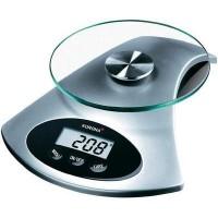 Digitális konyhai mérleg, üveg/ezüst, Korona 5826120