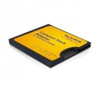 DeLOCK Compact Flash -> SD / MMC kártyaolvasó (61796)