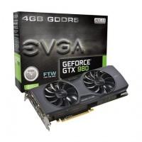 EVGA GTX980 FTW ACX 2.0 4GB DDR5 videokártya (04G-P4-2986-KR)