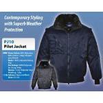 Portwest Pilóta dzseki, bomber 4 az 1-ben műszőrmés kabát